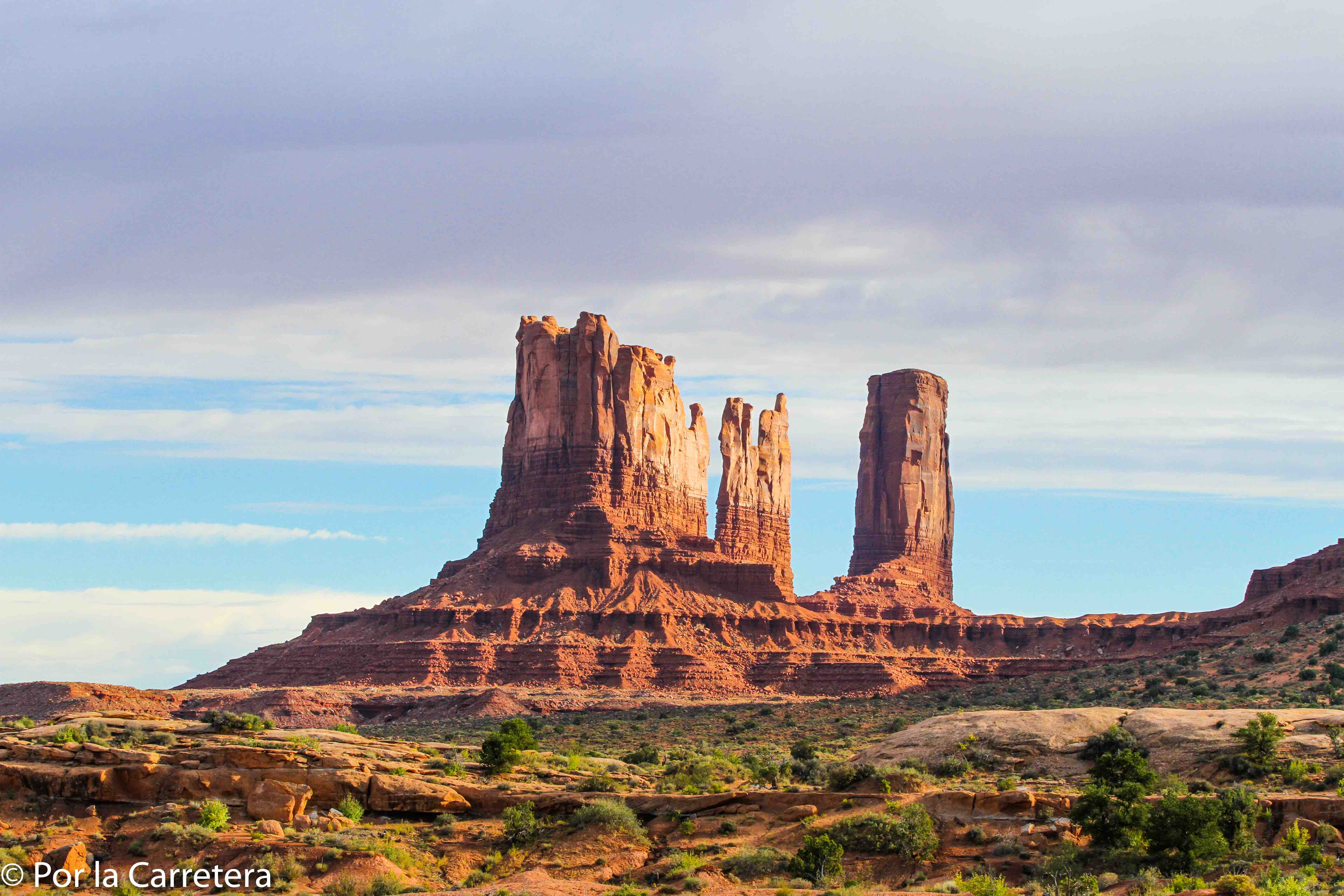 Monuments Utah Acampar