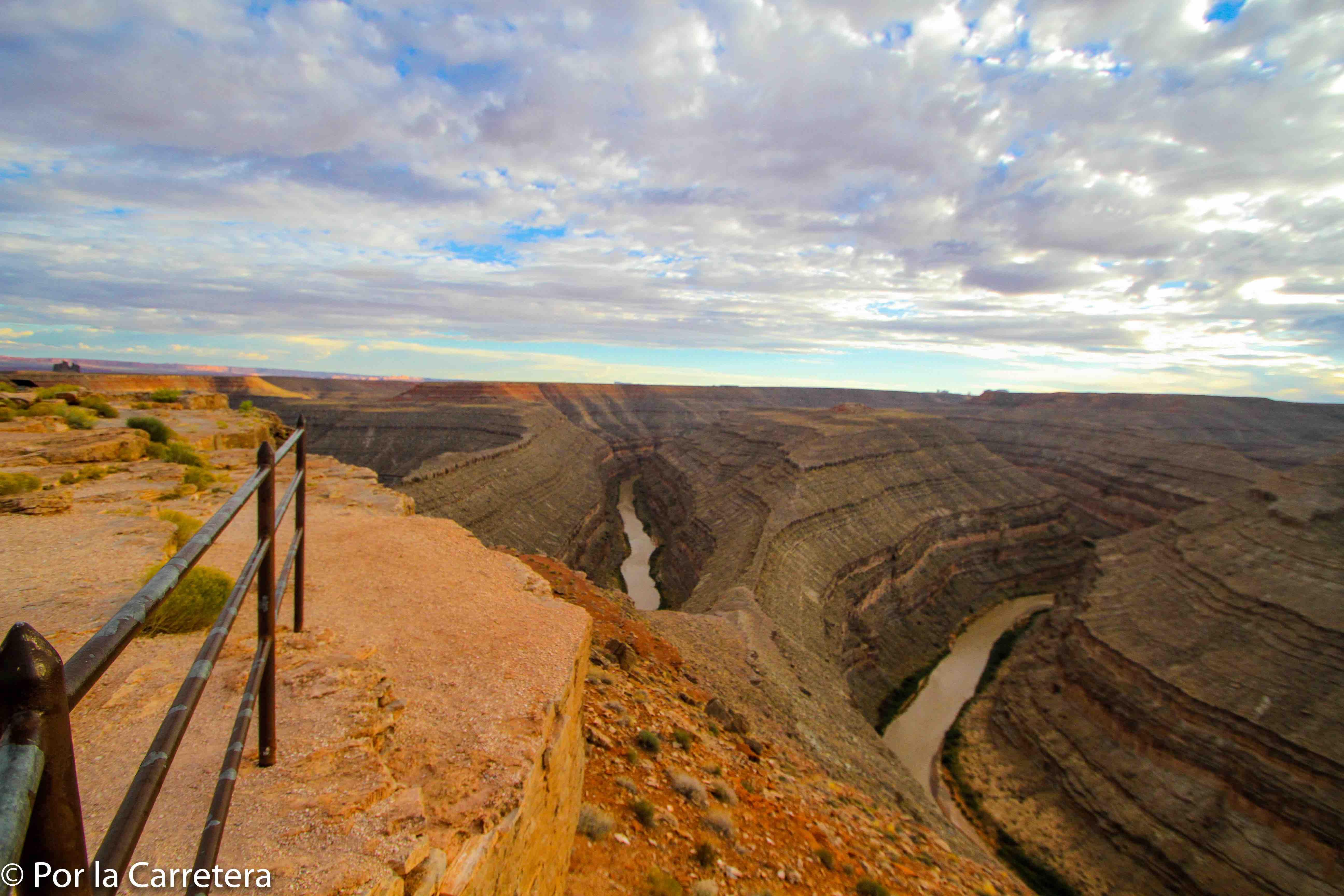 Gooseneck State Park Acampar Utah
