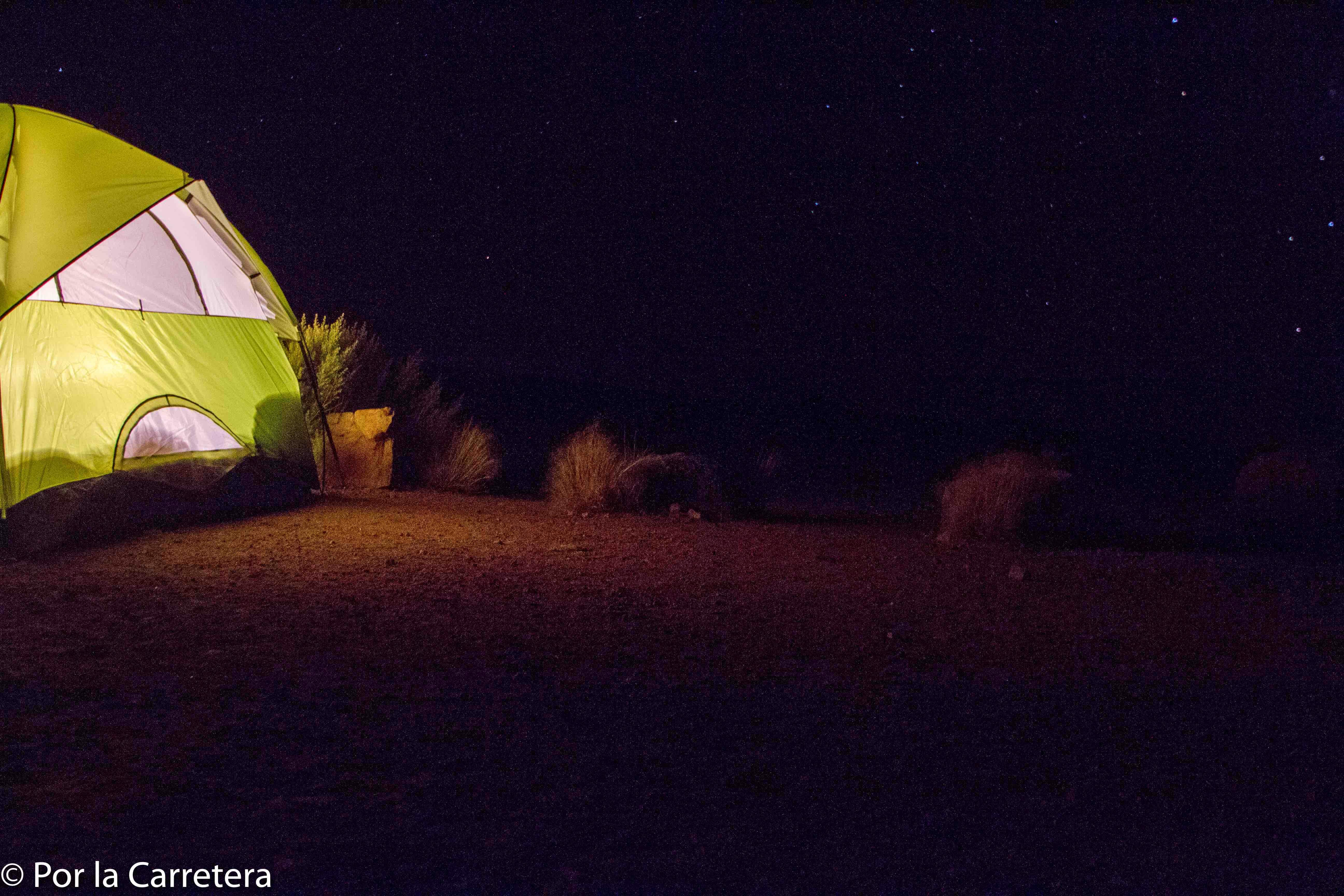 acampar Utah parques
