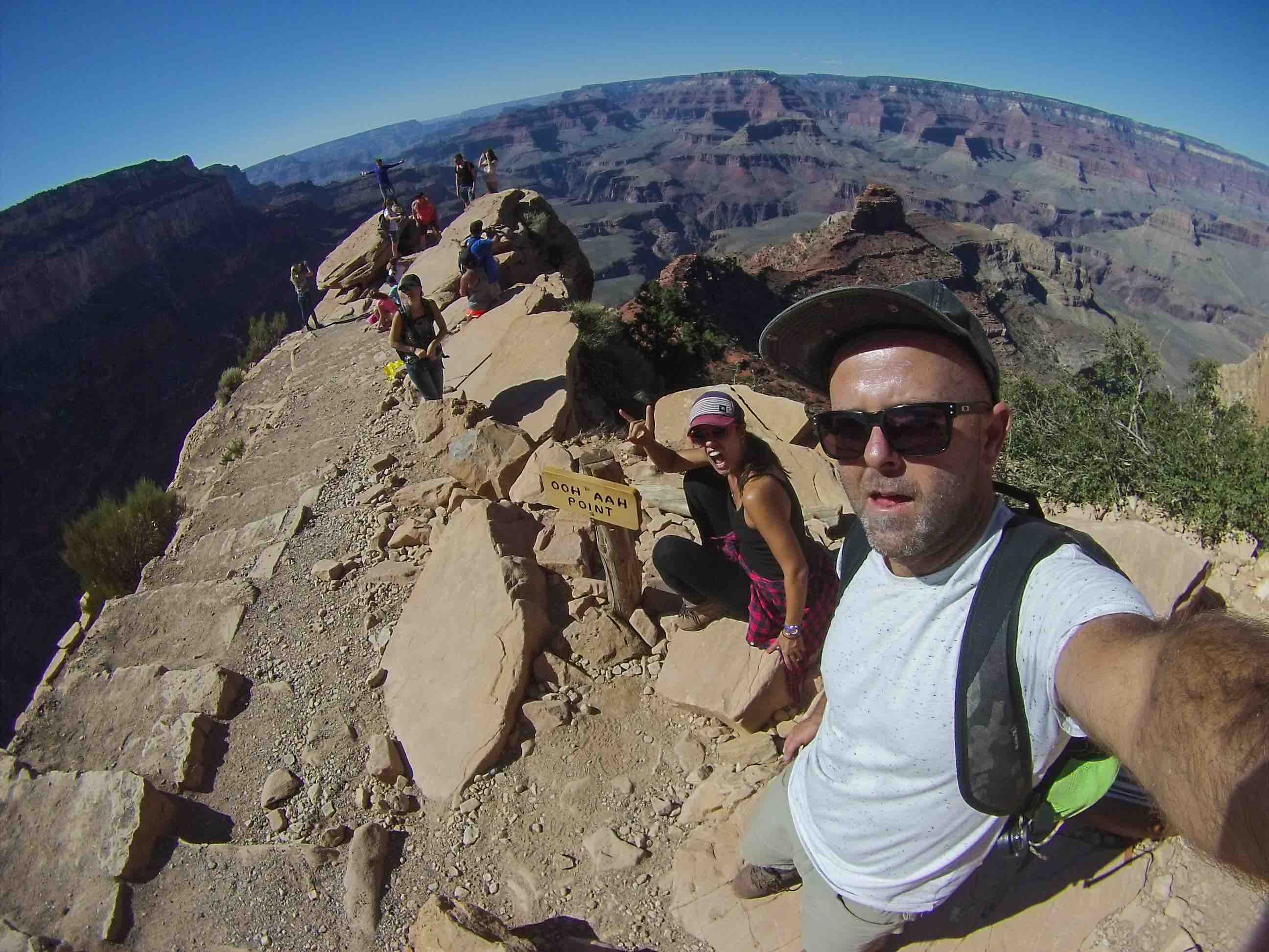 Woo Aah Point Hike Arizona USA Grand Canyon