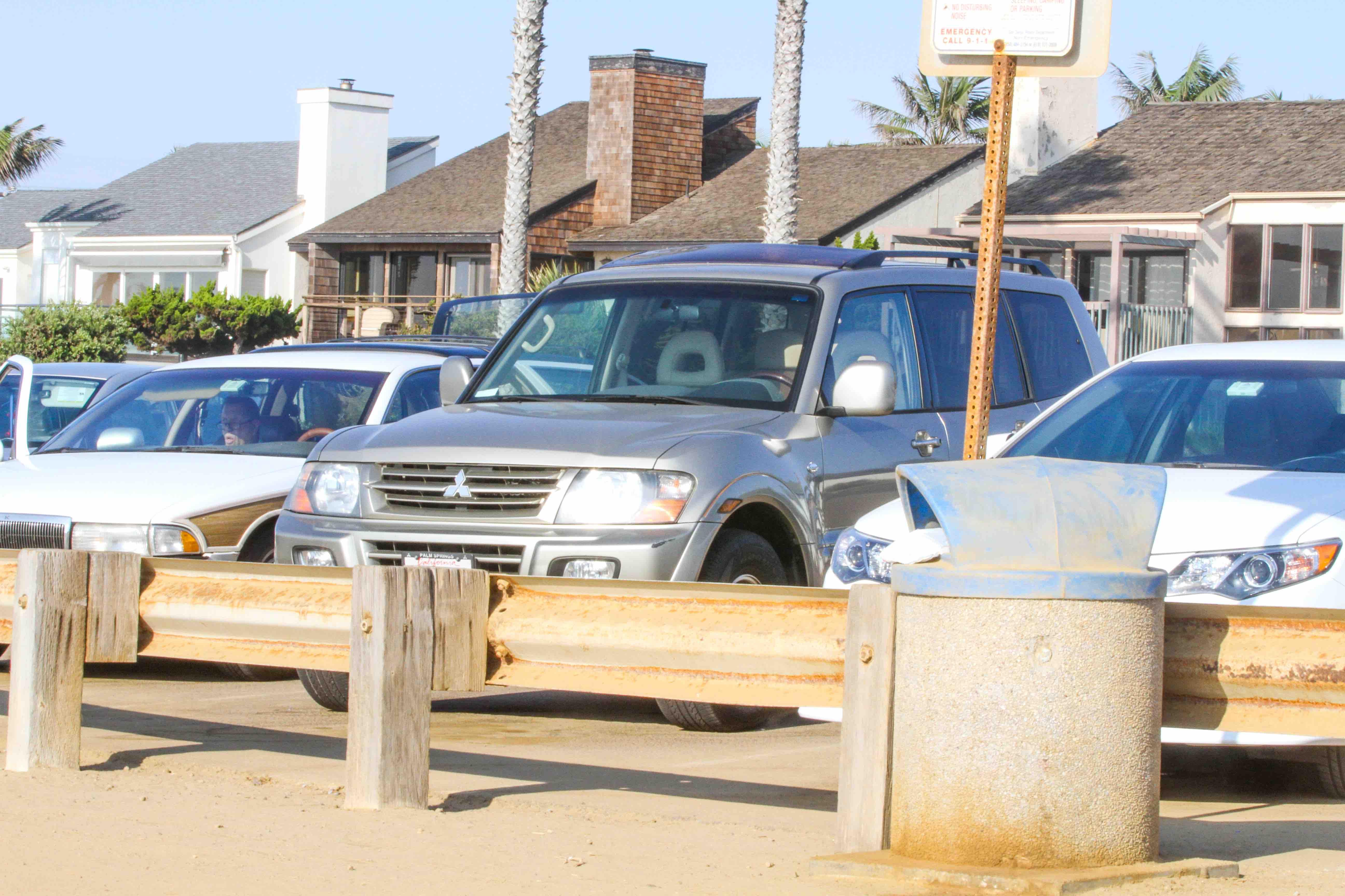 Maria gasolina passeando por San Diego
