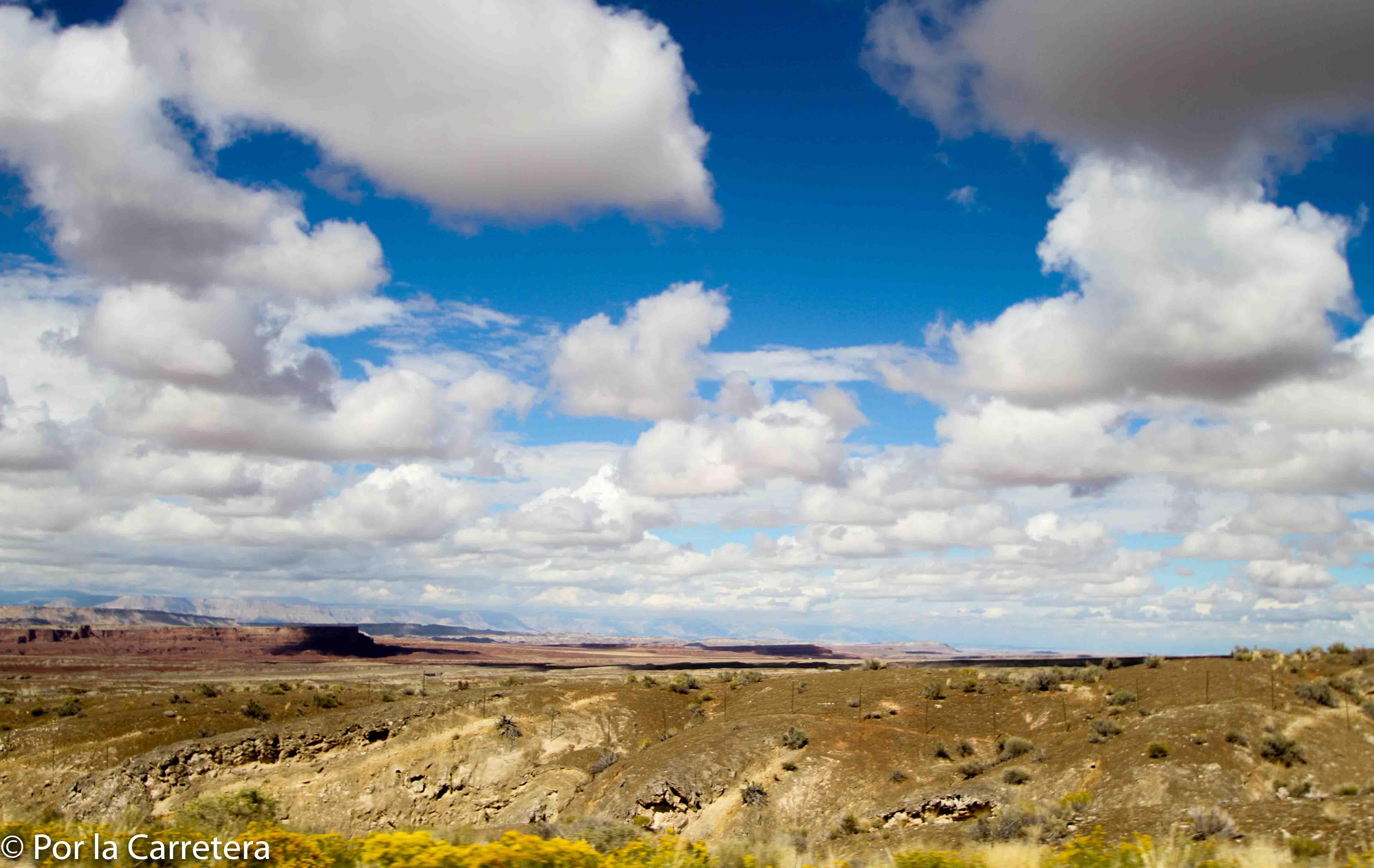 nuvens do Utah