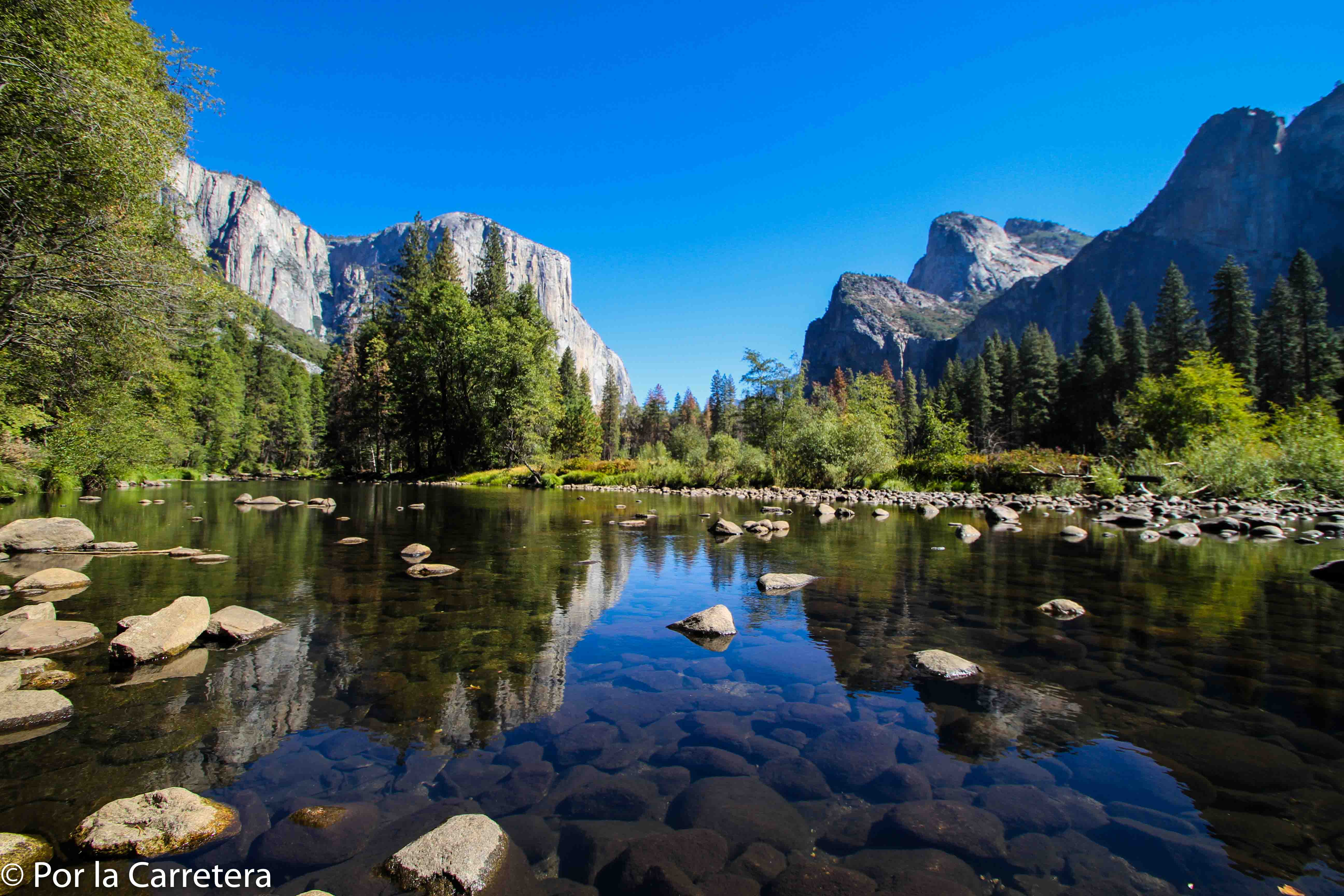 Yosemite valley acampar rio
