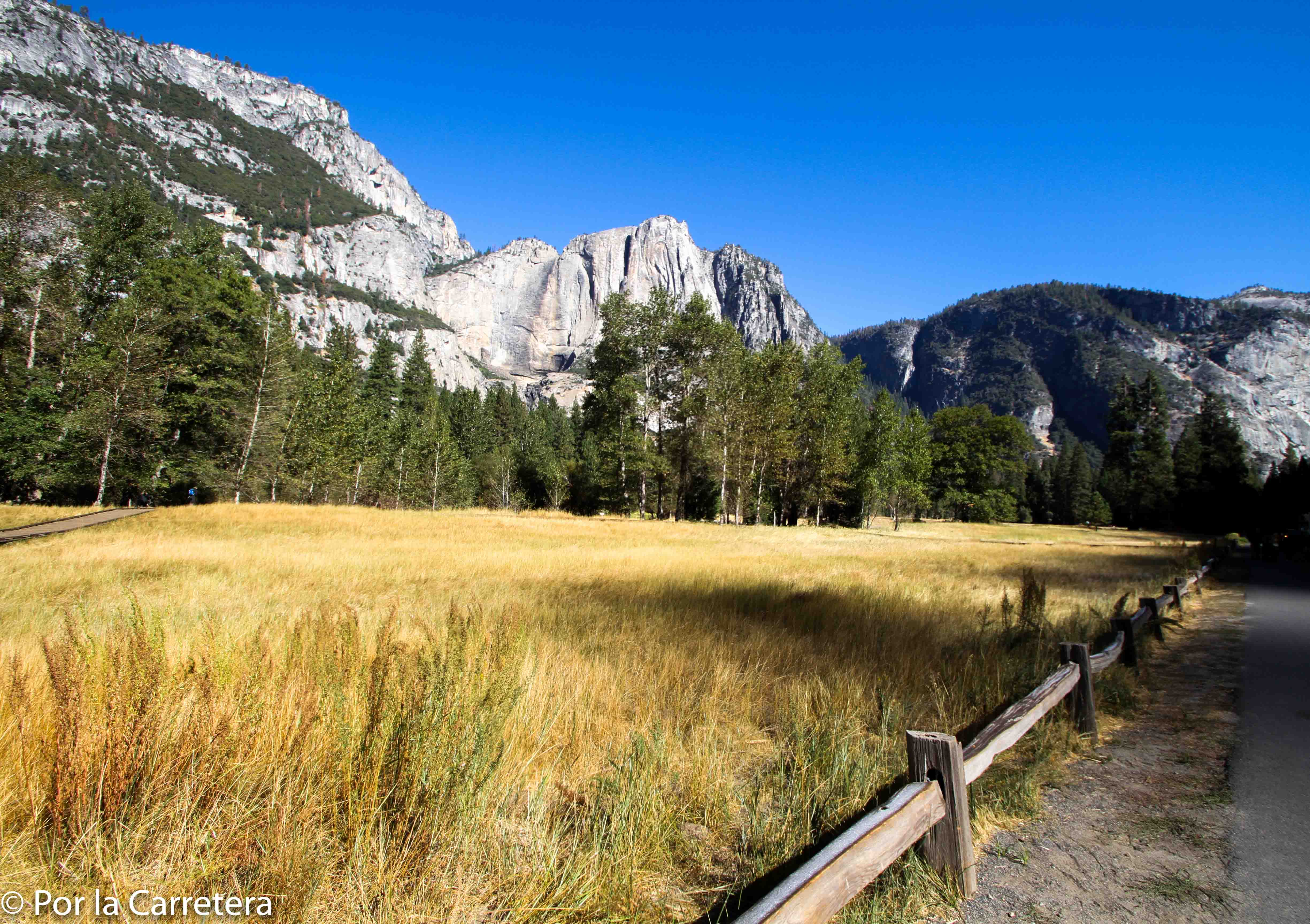 Acampar no Yosemite Valley